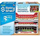 Spice Rack and Stackable Organizer It Installs in a Snap - No Tools.