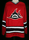 LOS ANGELES LA SHARKS WHA RETRO HOCKEY JERSEY GARY VENERUZZO SEWN NEW ANY NAME