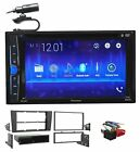 Pioneer DVD/CD Bluetooth Receiver iPhone/Android/USB For 2000-2001 Audi A4/S4