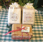 BABY POWDER, BAY RUM or BIRCH OIL: 3 Choices of Natural Handmade LOAF Style Soap