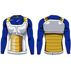 Dragon Ball Z Men T-shirt Compression Long Sleeve Quick Dry Jogger Sports Muscle