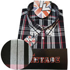 Warrior UK England Button Down Shirt MOORE Hemd Slim-Fit Skinhead Mod