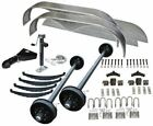 10400 lb Car Carrier Trailer Parts Kit (2) 5200 lb Brake Axles