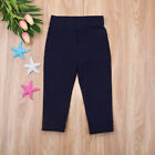 5 Colors Kids Child Baby Boy Girl Stretch Pants Clothes Trousers Slacks Bottoms