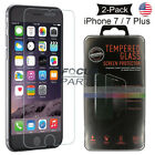 2-Pack For iPhone 7 / 7 Plus Tempered GLASS Screen Protector Bubble Free