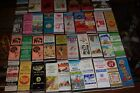 rare  lot 27  Vintage Collectible Match books cover's gas oil food  auto motel