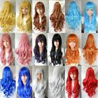 """31"""" Full Womens Wigs Long Curly Wavy Synthetic Hair Party Cosplay Heat Resistant"""