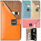 For LG Tribute Dynasty Premium Front Pocket Wallet Case Pouch Cover Accessory