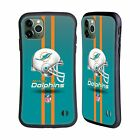 OFFICIAL NFL MIAMI DOLPHINS LOGO HYBRID CASE FOR APPLE iPHONES PHONES