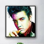 Fashion Oil Painting Elvis Presley Film Actor,Singer Wall Art DIY Home Decor