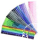 Dustproof Gradient Color Soft Silicone Keyboard Skin Cover Film For T