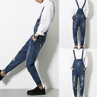 Men Solid Pants Suspenders Trousers Overalls Dungarees Jumpsuits Playsuit Spring