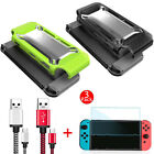 Hard Case Cover+Type C Charging Cable+3pcs Screen Protector for Nintendo Switch