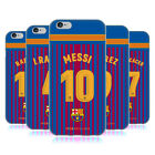 OFFICIAL FC BARCELONA 2017/18 HOME KIT 1 SOFT GEL CASE FOR APPLE iPHONE PHONES
