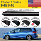 For BMW F45 F46 2 Series M Performance Side Skirt Sill Vinyl Decal Stickers US