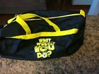 "Early 1990s Nickelodon ""What Would you Do?"" 20"" Duffle Bag. RARE W/ No Damage"