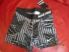 """NIKE 3"""" PRO CORE COMPRESSION PATCHWORK SHORTS--BNWT- SIZE XS  LAST ONE"""