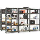 VonHaus 5 Tier Garage Shelving &ndash; Metal Racking, Steel &amp; MDF Boltless Shelves <br/> Adjustable Shelves Workbench | 875Kg Capacity per Bay