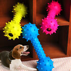 Pet Dog Squeaky Bone Chew Toys Bite Resistant Squeeze Squeaker Puppy Dog Toys