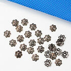 wholesale 6mm 8mm Six color plated Loose Bead Caps Flower Cap for Jewelry Making