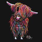 HIGHLAND COW PRINT ART of Original SCOTTISH Painting BoLLY bySHIRLEY MACARTHUR