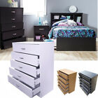 Wood Chest Of  Drawers Bedroom Furniture Solid Bedside Storage Cabinet Unit