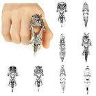 Full Finger Claw Knuckle Armor Ring Gothic Punk Rock Heavy Metal Steam Punk Mens