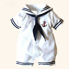US Newborn Infant Baby Boy Girl Romper Bodysuit Jumpsuit Clothes Outfits 0-24M