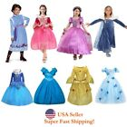 Внешний вид - Sleeping Beauty Rapuzel Bella Cinderella Esla Anna Princess Costume Girls Dress