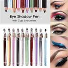 10Color Lip Liner Eye Shadow Eyeliner Pencil Makeup Cap Sharpeners ED 32