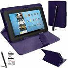 Universal Folding Folio Leather Flip Stand Case Cover For Android Tablet PC 7""