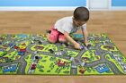 Kids Carpet Playmat Rug City Life Playing Cars & Toys Baby Bedroom Play Room Mat
