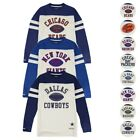 "NFL Mitchell & Ness ""Swing Pass"" Longsleeve Vintage Crew Fleece Collection Men's on eBay"