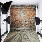 Red Curtain Wall Floor Backdrop Vinyl Photography Studio Photo Background Props <br/> US Stock!Blue Sky Beach!Retro Wall Wooden!Sequin