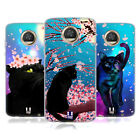 HEAD CASE DESIGNS CATS AND BLOSSOMS SOFT GEL CASE FOR MOTOROLA PHONES