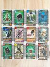 MIXED LOT 12 MUSHI KING : KING OF THE BEETLES CARD GAME GOOD CONDITION #0832