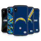 OFFICIAL NFL LOS ANGELES CHARGERS LOGO HYBRID CASE FOR APPLE iPHONES PHONES