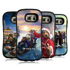 OFFICIAL LONELY DOG CHRISTMAS HYBRID CASE FOR SAMSUNG PHONES