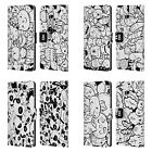 HEAD CASE DESIGNS DOODLE GALORE LEATHER BOOK WALLET CASE COVER FOR HTC PHONES 1