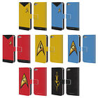 STAR TREK UNIFORMS AND BADGES TOS LEATHER BOOK CASE FOR APPLE iPOD TOUCH MP3 on eBay