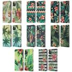 HEAD CASE DESIGNS TROPICAL PRINTS LEATHER BOOK CASE FOR APPLE iPHONE PHONES