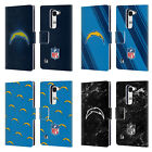 OFFICIAL NFL 2017/18 LOS ANGELES CHARGERS LEATHER BOOK CASE FOR LG PHONES 2