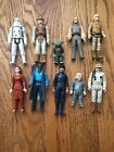 VINTAGE ORIGINAL STAR WARS  ESB LOT OF 10...LANDO, YODA, LUKE, LEIA  MORE... $9.01 USD
