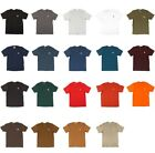 Carhartt - Men's Work Wear Pocket T-shirt, Cotton, Regular, Big, Tall Fit, K87 image