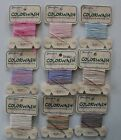 SALE - Colorwash Hand Painted 12 ply Japanese Silk Thread - by Glissen Gloss