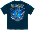 xx ff - EMS T-Shirt On Call For Life EMT Navy