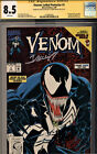 VENOM:LETHAL PROTECTOR #1 CGC 8.5 2X SIGNED BY STAN LEE & MARK BAGLEY-