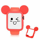 Apple Watch Cute Mouse Ears Design TPU Silicone Cover Protective Bumper Case