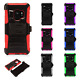 Samsung Galaxy S9 / S9 PLUS COMBO Holster Hard HYBRID KICK STAND Rubber Cover