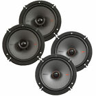 "KICKER 44KSS6504 6.5"" 250w Car Audio Component Speakers+2) 6.5"" Coaxial Speakers"